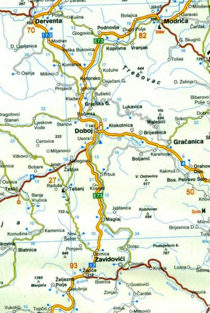 doboj mapa DOBOJ – LOGORI, ŽRTVE, DŽELATI — Bosnjaci.Net doboj mapa